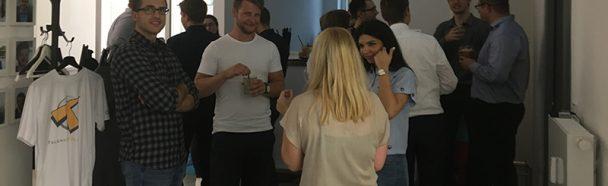 Talentschmiede feiert Office-Party in der Weserstraße