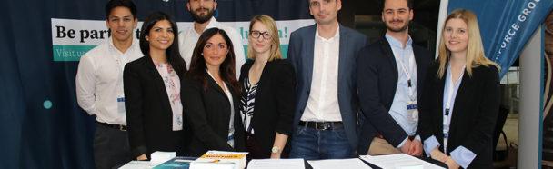 Die Talentschmiede auf der Firmenkontaktmesse des BDSU Frühjahrskongresses 2018!